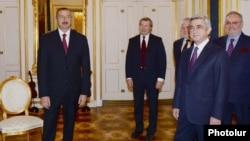 Հայաստանի և Ադրբեջանի նախագահների հանդիպումը Վիեննայում, 19-ը նոյեմբերի, 2013թ․