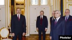 Австрия - Встреча президентов Армении и Азербайджана в Вене, 19 ноября 2013 г.