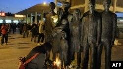 Мемориал памяти жертв теракта 2004 года в Мадриде.