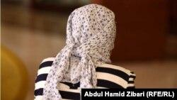 الفتاة الأيزيدية التي أضرمت النار في جسدها