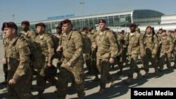The U.S. Army announced the arrival of the paratroopers on April 16, saying they would train 900 members of a Ukrainian reservist force that was called up in 2014 to bring volunteers and pro-government militia under government control.