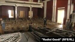 Снос здания театра им. Маяковского
