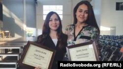 Олена Логінова та Анастасія Іванцова, журналісти Радіо Свобода