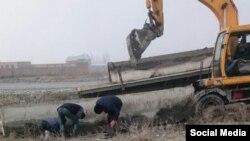 В Коканде снесли около 30 частных домов, чтобы создать СЭЗ на их месте.