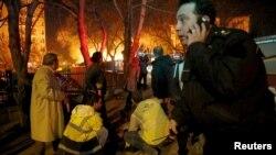 Біля місця вибуху в Анкарі, 17 лютого 2016 року