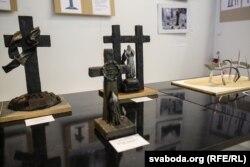 Макеты прапанаваных помнікаў у Курапатах