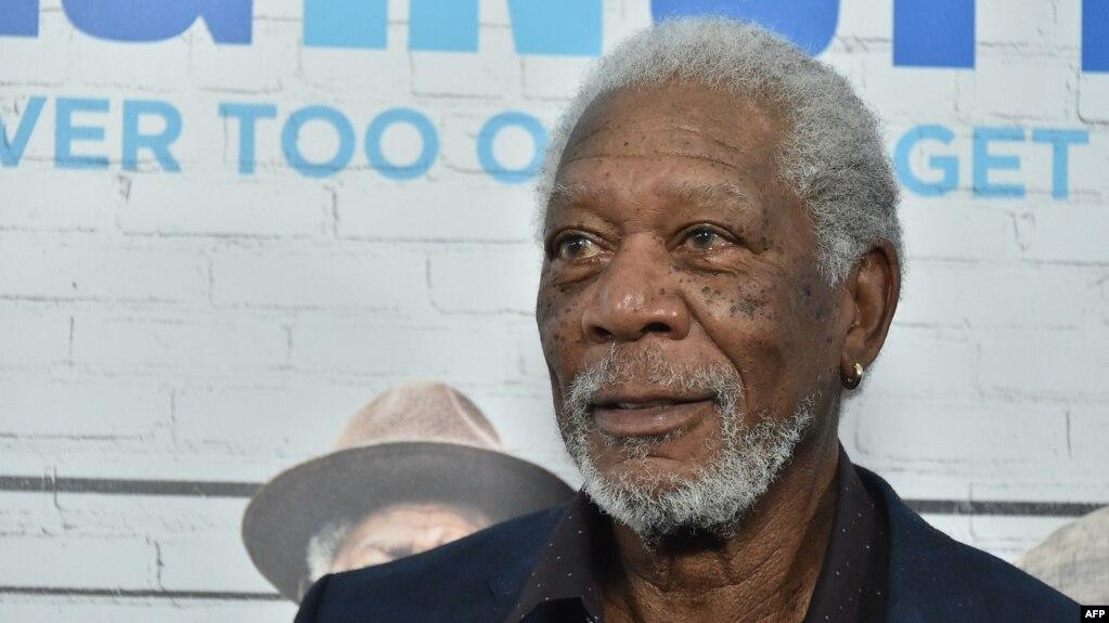 American actor Morgan Freeman (file photo)