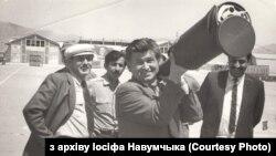 Іосіф Навумчык зэлемэнтам пераноснага зэнітна-ракетнага комплексу Stinger, захопленага ўмуджагедаў