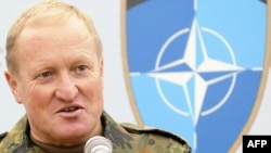 German General Erhard Buhler, commander of the NATO-led peacekeeping force in Kosovo