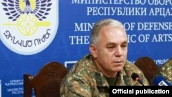 Министр обороны Нагорного Карабаха Левон Мнацаканян