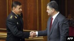 Валерий Гелетей и Пётр Порошенко