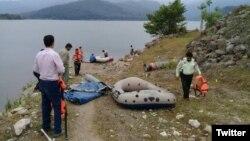 توقیف قایقهای «گردشگران بیحجاب» در دریاچه سد لفور توسط نیروی انتظامی
