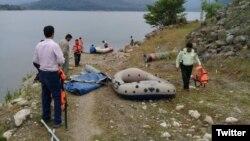 توقیف قایقهای «گردشگران بیحجاب» در دریاچه سد لفور توسط نیروی انتظامی، خرداد ۹۸