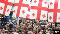 Тбилиси, 10 мая, митинг оппозиции