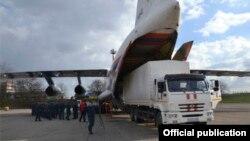 Русия гадәттән тыш хәлләр министрлыгы Кырымга 300 күчмә генератор китерде