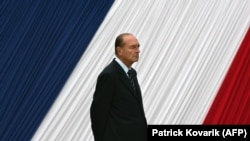 Jacques Chirac. 10 mai 2006