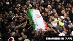 Massive Crowds Mourn Slain Iranian Military Leader Qasem Soleimani