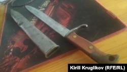 Штык-нож к винтовке Маузер