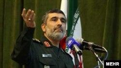 AmirAli Hajizadeh, IRGC's Aerospace Force Commander. FILE PHOTO