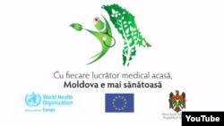 Stop cadru dintr-un video promoțional al ministerului sănății de la Chișinău (februarie 2015)