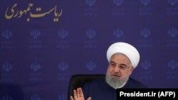 Presidenti iranian, Hasan Rohani.