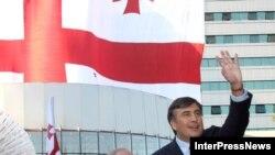 Саакашвили воспринял победу своей партии как поддержку в противостоянии с Россией