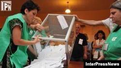 Парламентские выборы в рузии