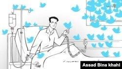 هشتگ freeomid توانست برای ساعاتی در صدر ترندهای شبکه اجتماعی توییتر قرار گیرد. امید دانشمند است، اما در ایران زندانی است