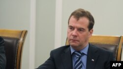 Kryeministri i Rusisë, Dimitri Medvedev.