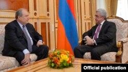 Armen Sargsyan və Serzh Sargsyan