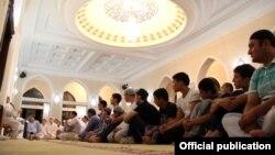 В мечети в Ташкентской области. Иллюстративное фото.