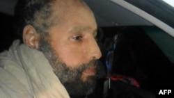 Сейф аль-Ислам Каддафи вскоре после ареста в ноябре 2011 года