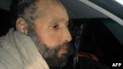 Сейф аль-Ислам Каддафи вскоре после ареста. Ливия, ноябрь 2011 года