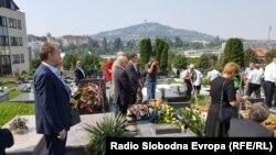 Vojka Smiljanić Đikić sahranjena je na sarajevskom groblju Lav