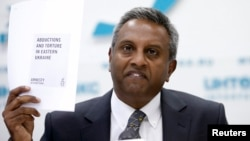 Secretarul general al Amnesty International, Salil Shetty