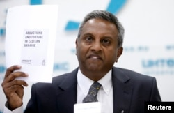 Amnesty International's Secretary-General Salil Shetty (file photo)