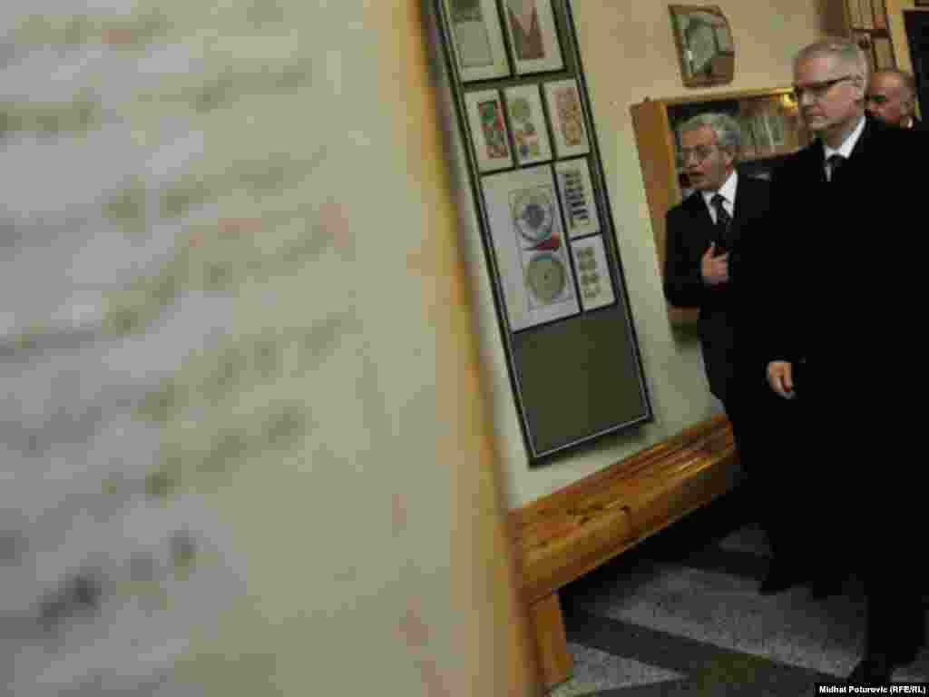 Josipović na Fakultetu islamskih nauka