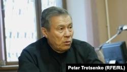 Бывший заместитель председателя Верховного суда, а ныне адвокат Тагир Сисинбаев. Алматы, 7 декабря 2016 года.