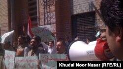 په کوټه کې زده کوونکي د تښتوونو پر ضد د احتجاج پر وخت . ۱۰م مارچ ۲۰۱۲م