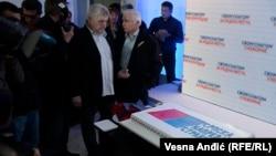 Iz štaba Srpske napredne stranke (SNS), arhivska fotografija