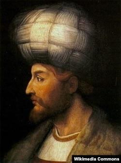 Şah İsmayılın portreti