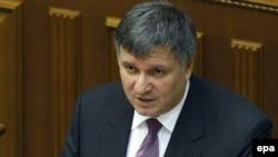 Исполняющий обязанности министра внутренних дел Украины Арсен Аваков