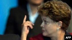 Presidentja e Brazilit, Dilma Rousseff.