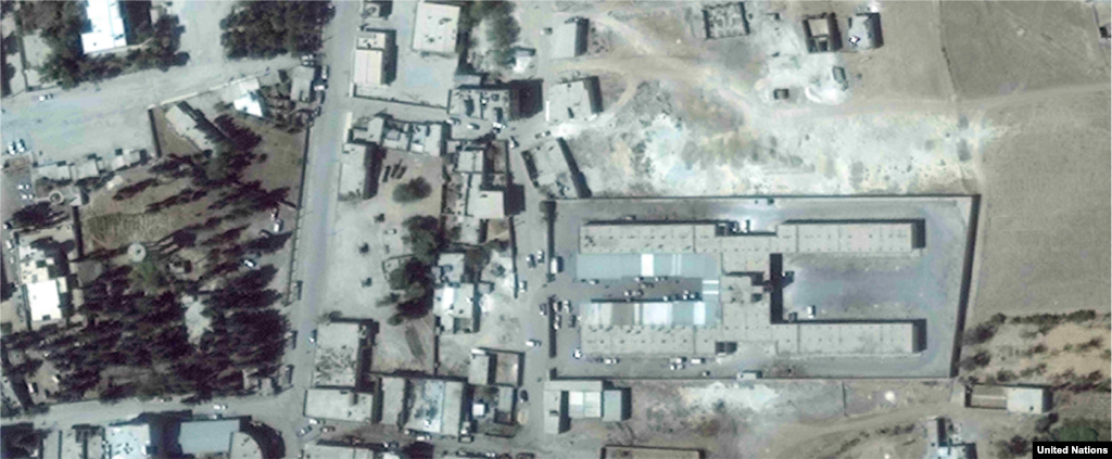 Souk Al-Hal market, Kobane 2014-2015 In the northern Syrian city of Kobane, the Souk Al-Hal market, which is just 400 meters from the Turkish border, has been almost completely flattened.
