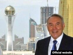 Қазақстан президенті Нұрсұлтан Назарбаев. Астана, 15 шілде 2008 жыл. (Көрнекі сурет)
