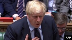 Kryeministri britanik, Boris Johnson