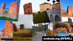 Беларускія замкі, банэр