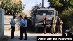 Обыск в доме крымскотатарского активиста Марлена Мустафаева. Симферополь, 4 сентября 2018 года
