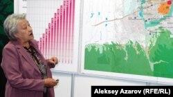 Баян Туякбаева предлагает музеефицировать историко-культурный ландшафт и полностью сохранить ансамбль центра города. Алматы. 8 сентября 2015 года.