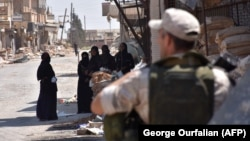 Российский военнослужащий в Сирии (иллюстративное фото)